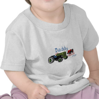 Daddy and Me Tractors T Shirts