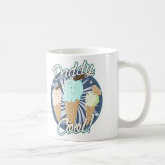 Daddy Cool Ice Cream Cones Basic White Mug