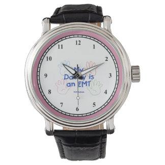Daddy EMT Hands Wrist Watch