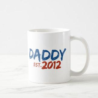 Daddy Est 2012 Mugs
