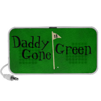 Daddy gone green, go green notebook speakers