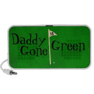 Daddy gone green, go green speaker system