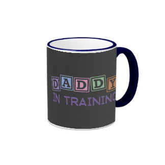 Daddy In Training Ringer Mug