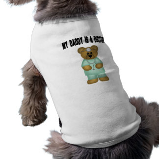 Daddy is a Doctor Bear Pet Clothes