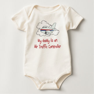 Daddy is an Air Traffic Controller baby shirt