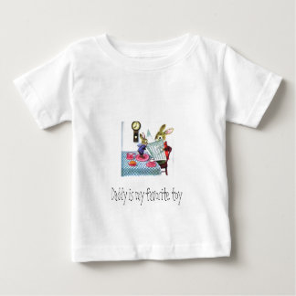 Daddy is my favorite toy baby T-Shirt