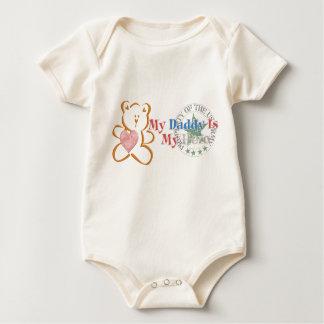 Daddy Is My Hero (Army) Baby Bodysuit