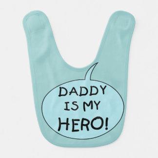 Daddy is My Hero Bib