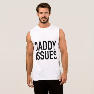 Daddy Issues Vest Sleeveless Shirt