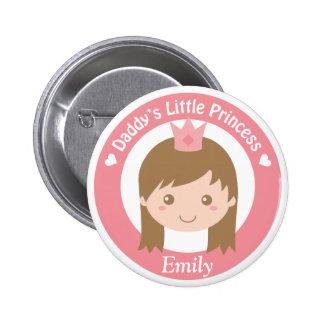 Daddy Little Princess, Cute Princess with Tiara Pin