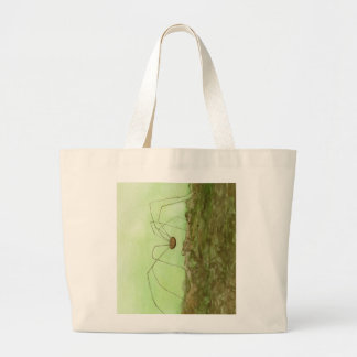 Daddy Long Legs Large Tote Bag