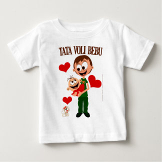 Daddy Loves Baby - Baby t-shirt