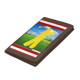 Daddy never disappoint tri-fold wallet