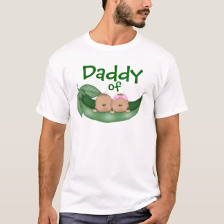Daddy of Mixed Twins (dark skin) T-Shirt