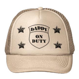 Daddy on duty hat