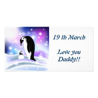 Daddy Photo Card