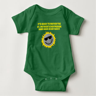 Daddy Pick Me Up St. Pat's Baby Outfit Baby Bodysuit