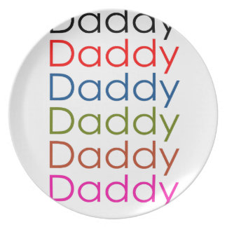 daddy plates