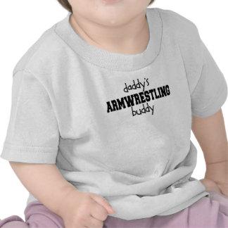 Daddy s Armwrestling Buddy T-shirts