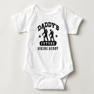Daddy's Future Hiking Buddy Baby Bodysuit