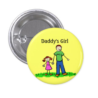 Daddy s Girl Buttons Custom Family Pendant Pins