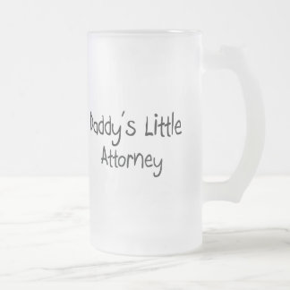 Daddy s Little Attorney Coffee Mugs