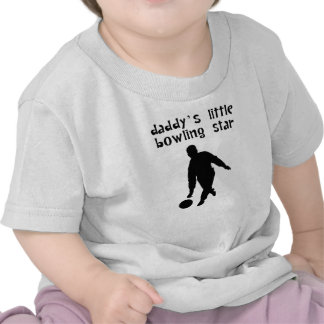 Daddy s Little Bowling Star T-shirts