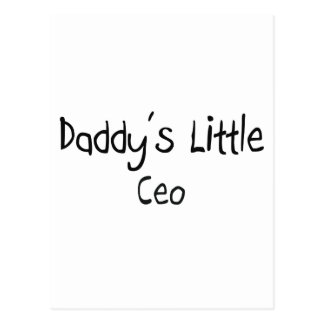 Daddy s Little Ceo Postcards