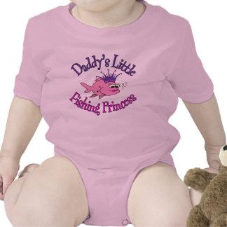 Daddy s Little Fishing Princess Tshirt