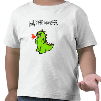 Daddy s Little Monster Tee Shirts