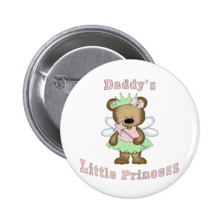 Daddy s Little Princess Pinback Buttons