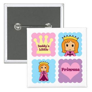 Daddy s Little Princess Pins