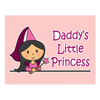 Daddy s Little Princess Post Card