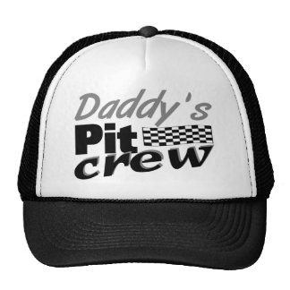 Daddy s Pit Crew Hat