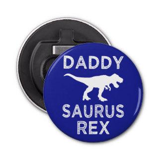 Daddy Saurus Rex funny dad beer bottle opener
