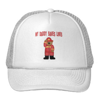 Daddy Saves Lives Firefighter Cap