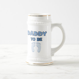 DADDY TO BE BEER STEINS