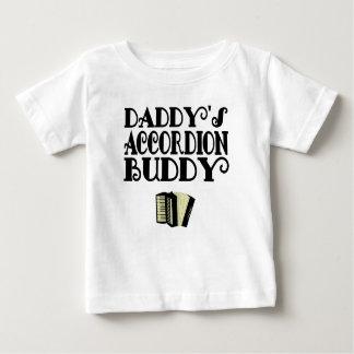 Daddy's Accordion Buddy Baby T-Shirt