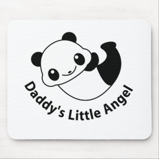 Daddys angel2 mouse pad