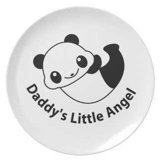 Daddys angel2 plate