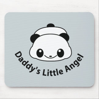 Daddys angel Panda Mouse Pad