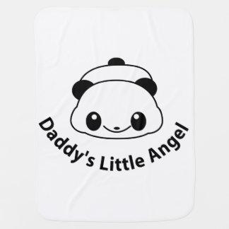 Daddys angel Panda Pramblanket