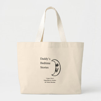 Daddys Bedtime Stories Amazon.com Kindle Ebooks Large Tote Bag