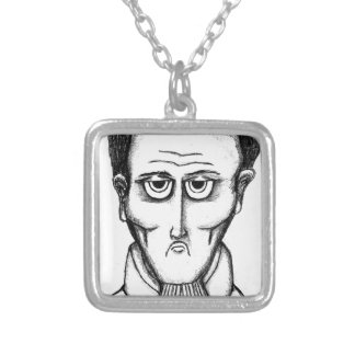 Daddys Bedtime Stories- children teen young adult Silver Plated Necklace
