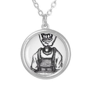 Daddys Bedtime Stories - children teen young adult Silver Plated Necklace