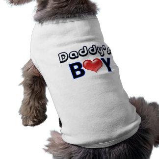 Daddy's Boy Dog Shirt