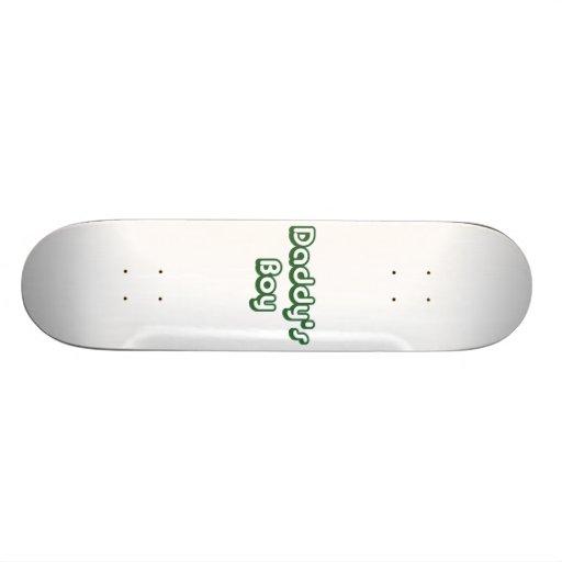 Daddy's Boy Skateboard Deck