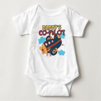 Daddy's Co-pilot Baby Bodysuit