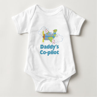 Daddy's Copilot Boy Baby Bodysuit