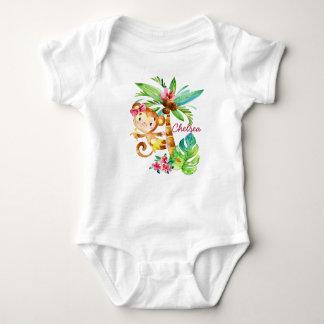 Daddy's Darling Little Monkey Baby Bodysuit